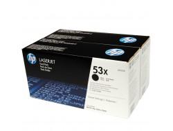 2x Toner HP Q7553X, Multipack, Black, originál