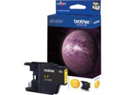 Cartridge Brother LC-1220Y, Yellow, originál