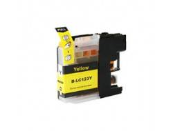 Cartridge Brother LC-123Y, Yellow, kompatibilný s čipom