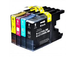 Cartridge Brother LC-1240VALBP, Multipack CMYK, kompatibilný