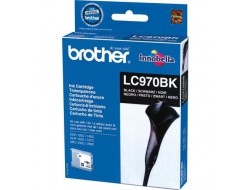 Cartridge Brother LC-970BK, Black, originál