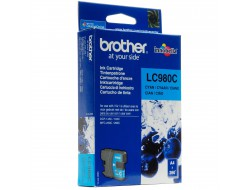 Cartridge Brother LC-980C, Cyan, originál