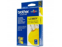 Cartridge Brother LC-980Y, Yellow, originál