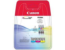 Cartridge Canon CLI-521 Multipack CMY, originál