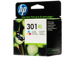 Cartridge HP 301XL (CH564EE), Color, originál