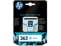 Cartridge HP 363 (C8774EE), Light Cyan, originál