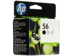 Cartridge HP 56 (C6656AE), Black, originál