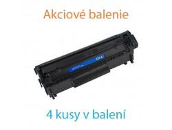 4x Toner HP CB435A, Black, kompatibilný