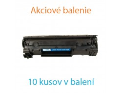 4x Toner HP CB436A, Black, kompatibilný