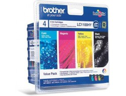 Cartridge Brother LC-1100VALBP, Multipack CMYK, originál