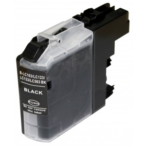 Cartridge Brother LC-123Bk, Black, kompatibilný s čipom