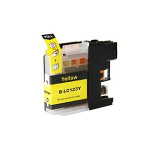 Cartridge Brother LC-123Y, Yellow, kompatibilný s čipom
