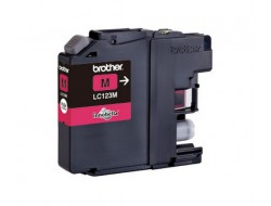 Cartridge Brother LC-123M, Magenta, originál