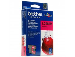 Cartridge Brother LC-980M, Magenta, originál