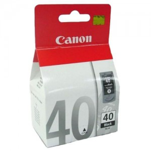 Cartridge Canon PG-40, Black, originál