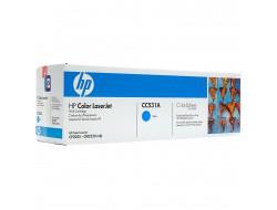 Toner HP CC531A, Cyan, originál
