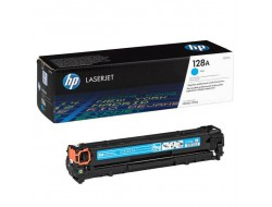 Toner HP CE321A, Cyan, originál