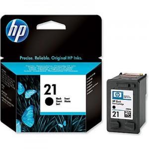 Cartridge HP 21 (C9351AE), Black, originál