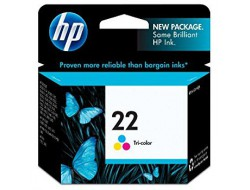 Cartridge HP 22 (C9352AE), Color, originál