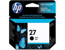 Cartridge HP 27 (C8727AE), Black, originál