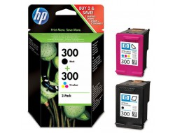 Cartridge HP 300 (CN637EE), Multipack CMYK, originál
