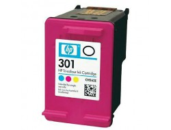 Cartridge HP 301 (CH562EE), Color, originál