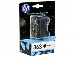Cartridge HP 363 (C8721EE), Black, originál