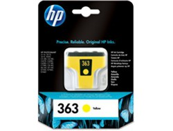 Cartridge HP 363 (C8773EE), Yellow, originál