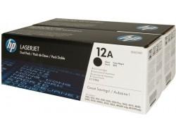 Toner HP Q2612AD, Multipack 2ks čierny, originál