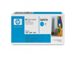 Toner HP Q6001A, Cyan, originál
