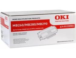 Toner OKI 01239901 (MB200, MB260, MB280, MB293), Black, originál
