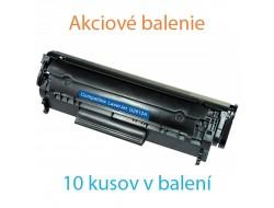 10x Toner HP Q2612A, Black, kompatibilný