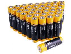 Alkalické batérie AAA mikrotuškové 1.5V AAA 40ks